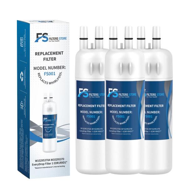 Filter 1 FS  3pk EDR1RXD1 W10295370A fridge filter