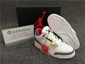 Authentic Air Jordan 3 Retro Seoul