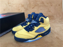 "Authentic Air Jordan 5 SP ""Michigan"""