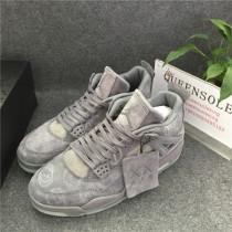 "Authentic Kaws x Air Jordan 4 ""Cool Grey"""
