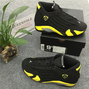 Authentic Air Jordan 14 Retro Thunder