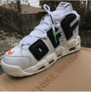 Authentic OFF-WHITE x Nike Air More Uptempo