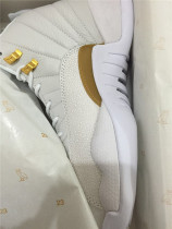 Authentic Air Jordan 12 OVO white