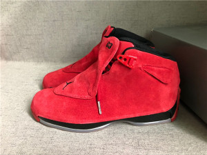 Authentic Air Jordan 18 Gym Red