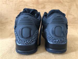 Authentic Air Jordan 3 Oregon Ducks Black