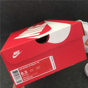 Authentic Nike Air More Uptempo White Gold