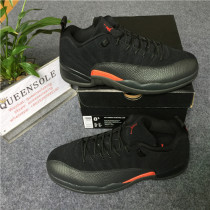 "Authentic Air Jordan 12 Low ""Black Olive"""