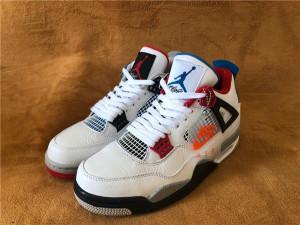 "Authentic Air Jordan 4 ""What the"""