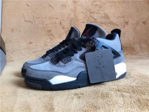 Authentic Air Jordan 4  grey