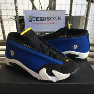 "Authentic Air Jordan 14 Low ""Laney"""