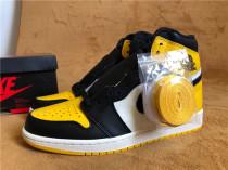 """Authentic  Air Jordan 1 """"Yellow Toe"""""""