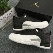 "Authentic Air Jordan 12 Low ""Playoff"""