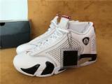 Authentic Supreme x Air Jordan 14 White