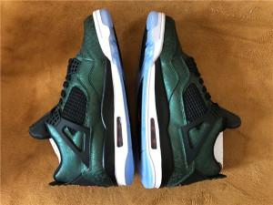 Authentic Air Jordan 4 Green Laser