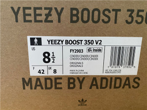 """Authentic Yeezy Boost 350 V2 """"Cinder"""""""