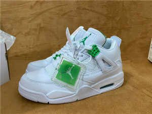 """Authentic Air Jordan 4 """"Pine Green"""""""