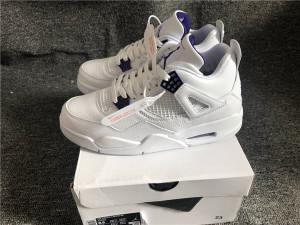 """Authentic Air Jordan 4 """"Purple Metallic"""""""
