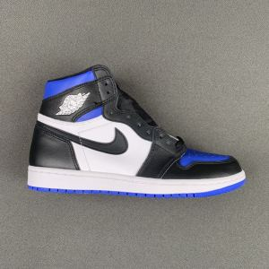 Authentic Air Jordan 1  Royal toe