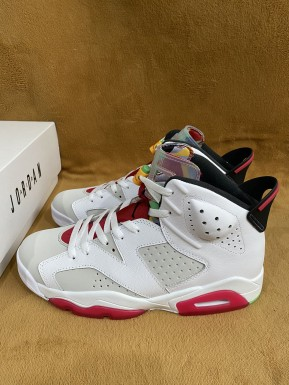 "Authentic Air Jordan 6 ""Hare"""
