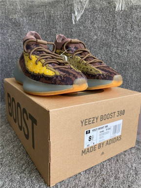 Authentic Yeezy Boost 380 Brown