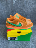 "Authentic Grateful Dead x Nike SB Dunk Low ""Orange Bear"""