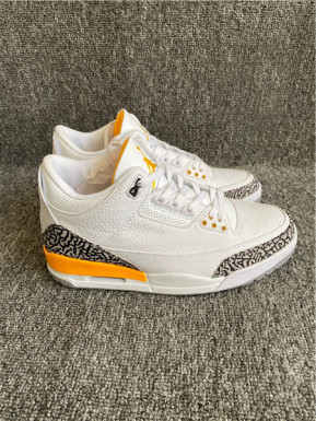 "Authentic Air Jordan 3 WMNS ""Laser Orange"""
