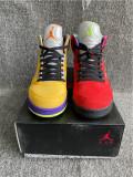 "Authentic Air Jordan 5 ""What The"""