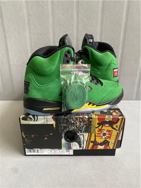 "Authentic Air Jordan 5 SE ""Oregon"""