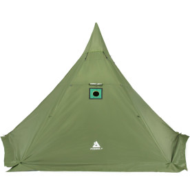 HEX Plus Camping Hot Tent with Wood Stove Jack 4-6 Person