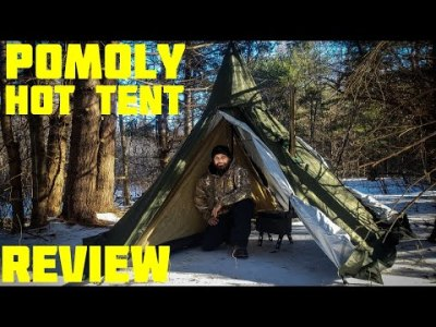 HEX Hot Tent with Wood Stove Jack 2 Person
