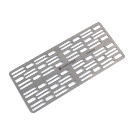 Camping Titanium Mini Grill net for Outdoor Heating, Bonfire, Grill, Picnic, Campers, Backpacking, Survival