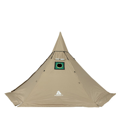 winter hot tent