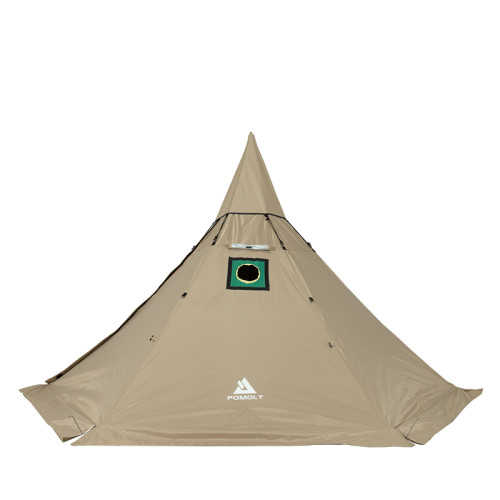 HEX Solo Winter Hot Tent with Wood Stove Jack 1 Person Camping Teepee tent
