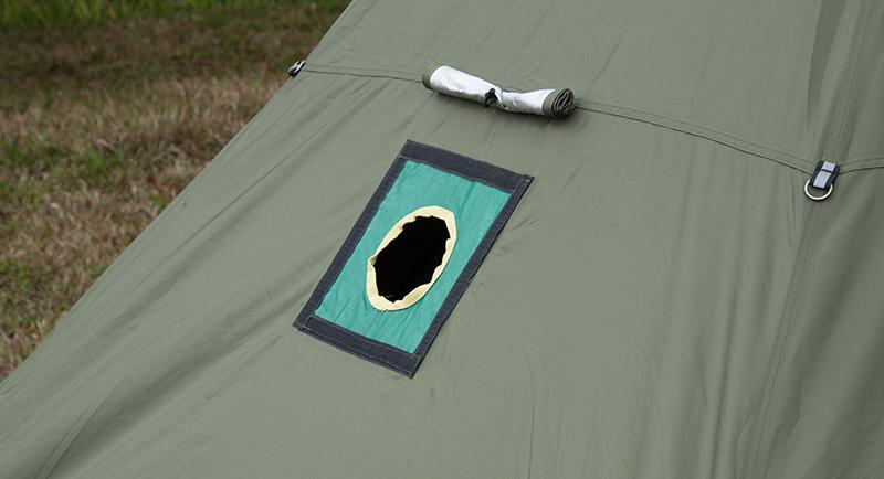 hot tent stove jack
