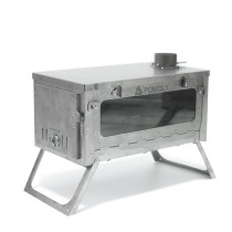 T1 Stove VISION Fastfold Titanium Wood Stove for Hot Tent