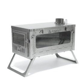 T1 Stove PERSPECTIVE Titanium Wood Stove for Hot Tent