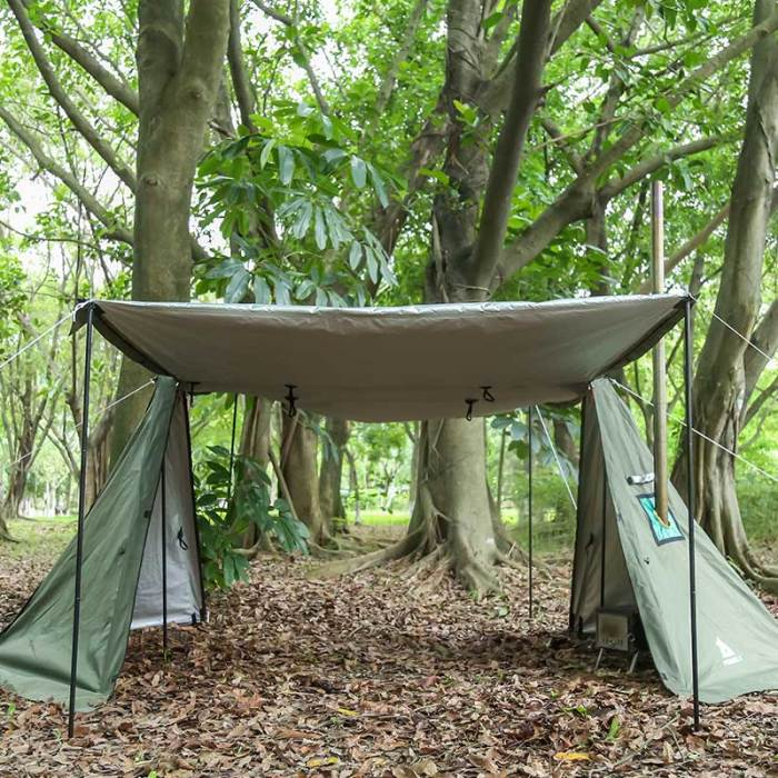 Bushcraft Shelter