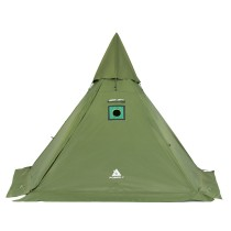 PEN Camping Teepee Hot Tent with Wood Stove Jack 1-2 Person