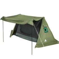 FORT Hot Tent Hot Shelter With Stove Jack 4 Season Camping Survival Bungalow Cold Weather Insulated Tent, 1 2 Person
