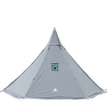 HEX Plus Canvas Hot Tent with Wood Stove Jack 4-6 Person