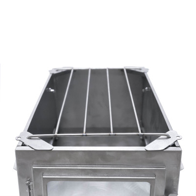 Ultralight Titanium Cooking Grill for POMOLY T1 STOVE (4 parts +1 grill)