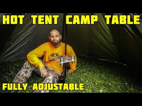 POMOLY GIMBAL Table for Tipi Tent Camping and Hiking