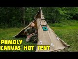 YARN Solo Canvas Hot Tent with Wood Stove Jack 1-2 Person