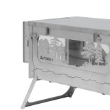T1 WOODS NIGHT - POMOLY Titanium Wood Stove - Winter Limited Edition