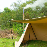 Canvas Hot Shelter Tent With Stove Jack