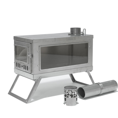 TIMBER Stove | Titanium Wood Stove for Hot Tent and Camping