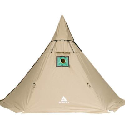 YARN Plus Canvas Hot Tent with Wood Stove Jack 3-6 Person
