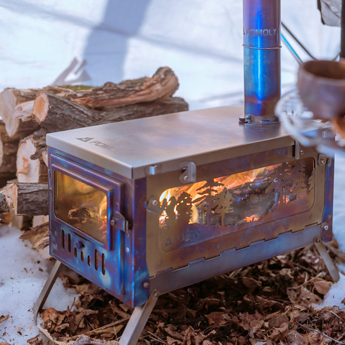 pomoly titanium stove
