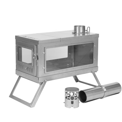 TIMBER 3 | Titanium Wood Stove for Hot Tent Camping
