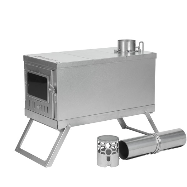 TIMBER Lite   Ultralight Titanium Wood Stove for Hot Tent and Camping